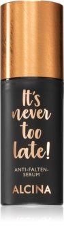Alcina It's never too late! Anti-rynke serum