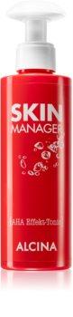 Alcina Skin Manager lotion tonique visage aux acides de fruit