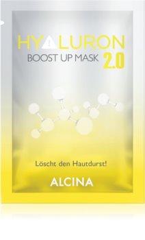 Alcina Hyaluron 2.0 maschera in tessuto per rassodare e lisciare la pelle effetto immediato