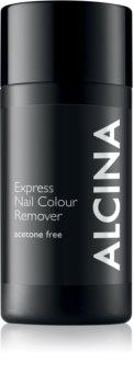 Alcina Express Nail Colour Remover körömlakklemosó aceton nélkül