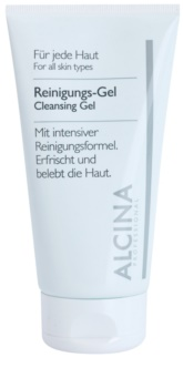 Alcina For All Skin Types čisticí gel s aloe vera a zinkem