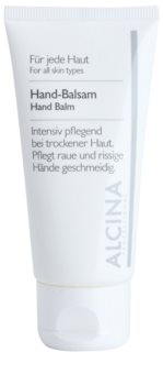 Alcina For All Skin Types Hand Balm For Dry And Chapped Skin