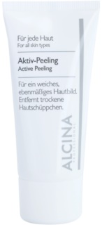 Alcina For All Skin Types активен пилинг за нежна и опъната кожа