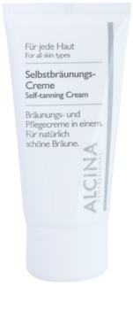 Alcina For All Skin Types Self-Tanning Face Lotion