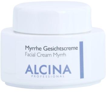 Alcina For Dry Skin Myrrh Ansiktskräm med effekt mot åldrande