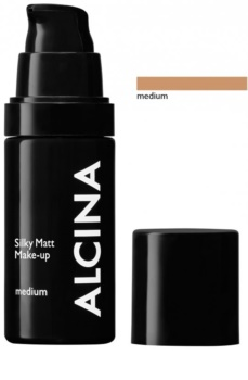 Alcina Decorative Silky Matt Make-Up mit Pudereffekt