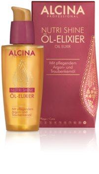Alcina Nutri Shine olejowy eliksir do błyszczących i zadbanych włosów