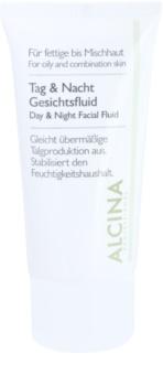 Alcina For Oily Skin denní a noční fluid pro regulaci mazotoku