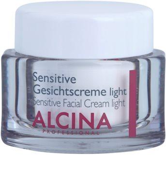 Alcina For Sensitive Skin нежен крем за лице за успокояване и подсилване на чувствителната кожа
