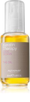 Alfaparf Milano Lisse Design Keratin Therapy odżywczy olejek do wszystkich rodzajów włosów