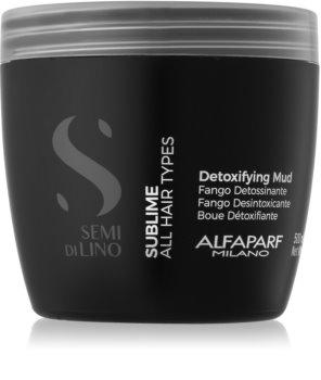 Alfaparf Milano Semi di Lino Sublime mascarilla desintoxicante para todo tipo de cabello