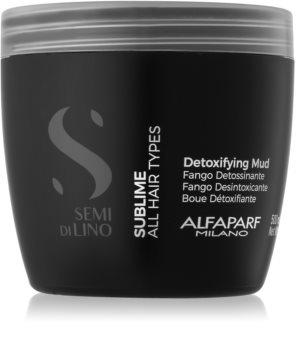 Alfaparf Milano Semi di Lino Sublime maseczka detoksykująca do wszystkich rodzajów włosów
