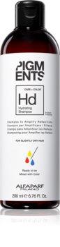 Alfaparf Milano Pigments Kosteuttava Hiustenpesuaine Kuiville Hiuksille