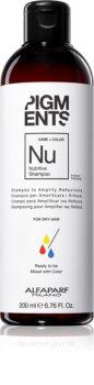 Alfaparf Milano Pigments hranilni šampon za suhe in barvane lase