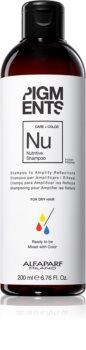 Alfaparf Milano Pigments Shampoo mit ernährender Wirkung für trockenes und gefärbtes Haar