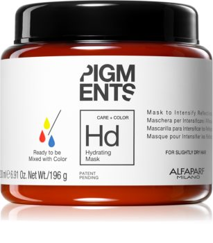 Alfaparf Milano Pigments Hydratisierende Maske für trockenes Haar