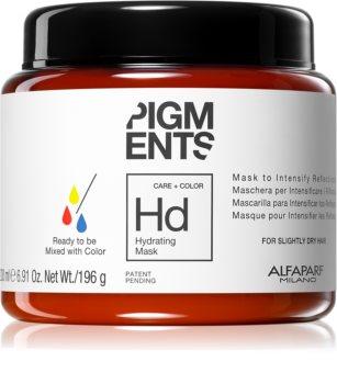 Alfaparf Milano Pigments mascarilla hidratante para cabello seco