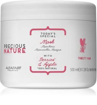 Alfaparf Milano Precious Nature Berries & Apple nährende Maske für trockenes Haar