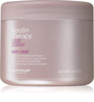 Alfaparf Milano Lisse Design Keratin Therapy kisimító kondicionáló a haj kiegyenesítésére