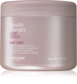 Alfaparf Milano Lisse Design Keratin Therapy Smoothing Conditioner For Hair Straightening