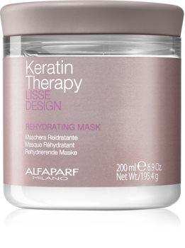 Alfaparf Milano Lisse Design Keratin Therapy máscara rehidratante para todos os tipos de cabelos
