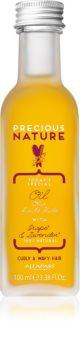 Alfaparf Milano Precious Nature Grape & Lavender ulei hrănitor pentru păr ondulat și creț