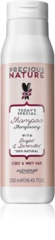 Alfaparf Milano Precious Nature Grape & Lavender șampon pentru păr creț