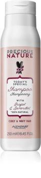 Alfaparf Milano Precious Nature Grape & Lavender Shampoo für lockige und wellige Haare