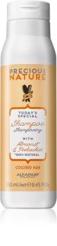 Alfaparf Milano Precious Nature Almond & Pistachio șampon pentru păr vopsit