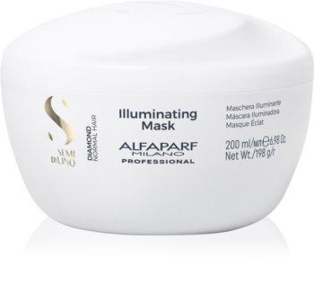 Alfaparf Milano Semi di Lino Diamond Illuminating maseczka  do nabłyszczenia