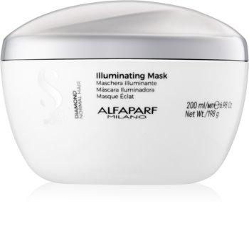 Alfaparf Milano Semi di Lino Diamond Illuminating Masker  voor Glans