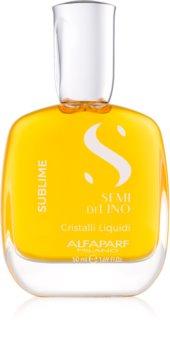 Alfaparf Milano Semi di Lino Sublime Cristalli huile pour des cheveux brillants et doux