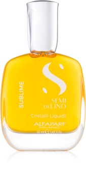 Alfaparf Milano Semi di Lino Sublime Cristalli Öl für glänzendes und geschmeidiges Haar