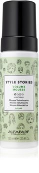 Alfaparf Milano Style Stories Volume Mousse espuma para dar volumen al cabello