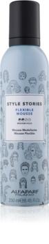Alfaparf Milano Style Stories The Range Pre-Styling Muotoiluvaahto Keskikokoinen Kontrolli
