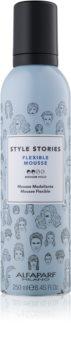 Alfaparf Milano Style Stories The Range Pre-Styling pěnové tužidlo střední zpevnění