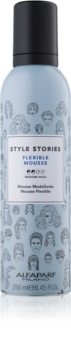 Alfaparf Milano Style Stories The Range Pre-Styling Styling Mousse  Medium Fixatie