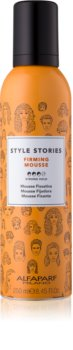 Alfaparf Milano Style Stories Firming Mousse espuma fijadora styling