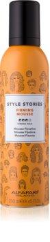 Alfaparf Milano Style Stories Firming Mousse spumă de styling
