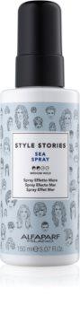 Alfaparf Milano Style Stories The Range Texturizing spray de définition pour un effet retour de plage