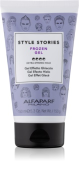 Alfaparf Milano Style Stories The Range Gel gel cheveux effet glacé fixation extra forte