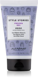 Alfaparf Milano Style Stories The Range Gel gel za lase z ledenim učinkom ekstra močno utrjevanje