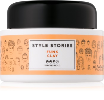 Alfaparf Milano Style Stories The Range Paste Matte Paste Strong Firming