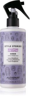 Alfaparf Milano Style Stories The Range Hairspray Haarspray extra starke Fixierung