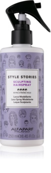 Alfaparf Milano Style Stories The Range Hairspray spray pentru păr fixare foarte puternica