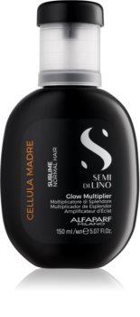 Alfaparf Milano Semi di Lino Sublime Glow Multiplier concentrato per capelli con vitamine