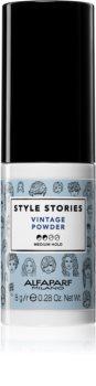 Alfaparf Milano Style Stories Vintage Powder Haarpoeder  voor Volume vanaf de Haarwortel