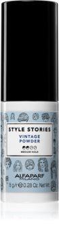 Alfaparf Milano Style Stories Vintage Powder Hiusjauhe Voimakkuudelle Juurista