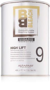Alfaparf Milano B&B Bleach High Lift 9 polvos para una aclaración extra
