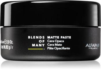 Alfaparf Milano Blends of Many cera para dar definición al peinado con efecto mate